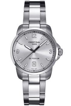 Certina Silver Tone Bracelet C0014101103700 Mens Watch