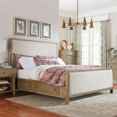 Grimaud Upholstered Panel Bed