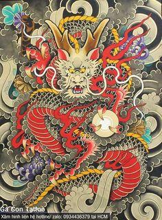 Dragon Tattoo Art, Dragon Tattoo Designs, Tatoo Art, Dragon Art, Body Art Tattoos, Lion Dragon, Tattoo Ink, Japanese Dragon Tattoos, Japanese Tattoo Art