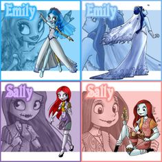 Patch Redux: Emily and Sally by Street-Angel