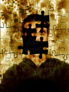 Hidden Identity/Loss of Identity¦ The jigsaw theme seems to used alot within the topic 'Identity', I think it can be used for Apart and/Or Together Hidden Identity, Personal Identity, Identity Art, Photography Projects, Art Photography, Ap 12, Puzzle Art, Mystique, A Level Art