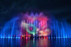 Wrocławska fontanna.