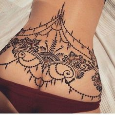 "Ultimate ""$20+$""Mehndi/Henna Design tattoos For Back and Shoulders ..."