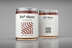 Bee There Honey packaging by AIDA PIONEER Branding & Creative » Retail Design Blog