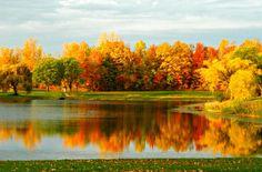 North Ponds Park in Webster, New York. Photo taken October 18, 2012.
