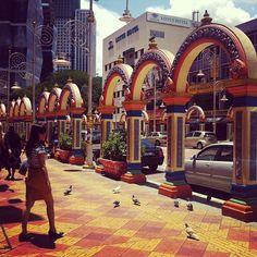Little India in Kuala Lumpur, Kuala Lumpur - God night market for street food