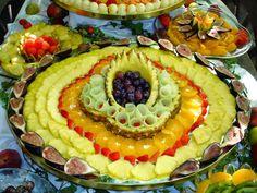 Arte com Fruta e Legumes