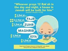 *Subhanallah.. Have you completed your fardh salah, dear..?