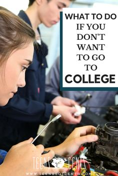 Most teens today plan to go to college, even if they aren't sure it's the right path for them. Here are some great options for teens who want a great future without all that student loan debt!