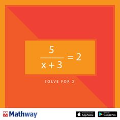 In this math problem, solve for x. Then, head over to our website to check your answer.