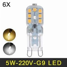 Honest 2018 New G9 Led Lamp 3w 5w 220v 110v Led Bulb Smd 2835 Spotlight For Crystal Chandelier Replace 50w 100w Halogen Light Led Bulbs & Tubes