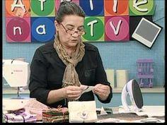 Tia Lili na TV (12/05/12): Manta com Folhas de Outono (Maple Leaf) - YouTube