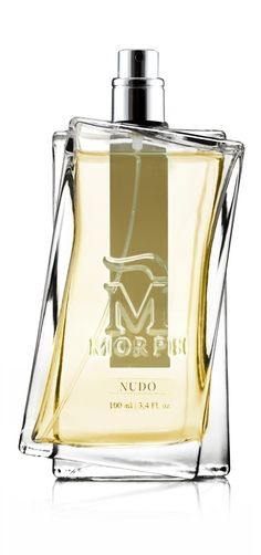 The sacred  and the profane. Perfect together • Profumo Morph Nudo. • Era l'incontro di due mondi: il sacro e il profano • Nudo Parfum è il perfetto connubio dell'incenso e del ricordo dell'odore riprodotto in laboratorio dalla pianta di coca.