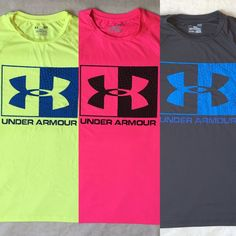 New Mens Under Armour Tech Graphic Jersey Logo Tee T-Shirt S,M,L,XL More Colors #UnderArmour #GraphicTee