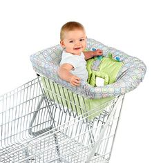 Taggies Tag 'n Go Cart Cover - Elefriend Snuggles