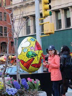 The Fabergé Big Egg Hunt, New York City (April 1 through 25, 2014). April 9, 2014.
