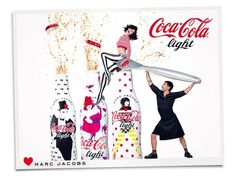 Coca-Cola Light Advertisement by Mark Jacobs.