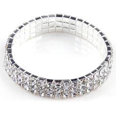 Women Lady Crystal Rhinestone  Heart Anklet Ankle Bracelet Chain Jewelry RS