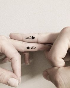 Small Matching Tattoo Ideas | POPSUGAR Love & Sex