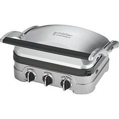 Cuisinart Gourmet GR-4N 5-in-1 Griddle Griddler Panini Sandwich Press * More info could be found at the image url. (This is an Amazon affiliate link)