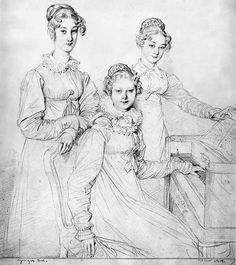 Ingres Pencil Drawings | The Chawed Rosin