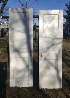 Wood Door Architectural Salvaged from Industrial Building Sliding Farmhouse Building Supply Swing Door Large Factory Reclaimed AF44   Supplies ... & Wood Door Architectural Salvaged from Industrial Building Sliding ... pezcame.com