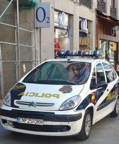 Madrid police car