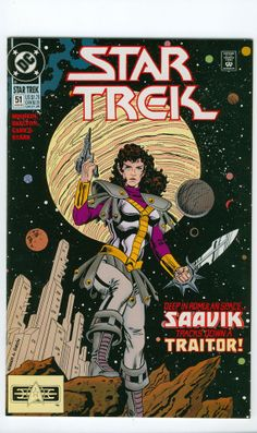 Star Trek Number 51 August DC Comics 1993