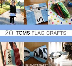Main Ingredient Monday- Toms Bags - She made a really great list, and my pencil bag is featured on it ;)