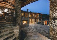 Ri-abitare: interni contemporanei per la fattoria in pietra