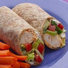 ... on Pinterest | Wrap Sandwiches, Healthy Shrimp and Healthy Wraps