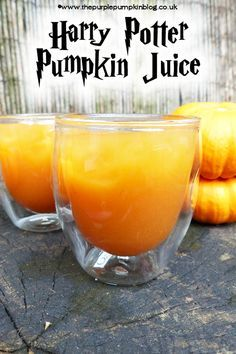 Harry Potter #Pumpkin Juice Copy Cat Recipe - tastes almost the same as the one you buy at Islands of Adventure, Orlando!
