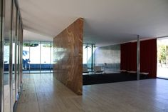Work by one of my favourite architects/furniture designers Mies van der Rohe