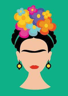 Disney Doodles, Kahlo Paintings, Frida Art, Painted Plant Pots, Doodle Inspiration, Paint And Sip, Art N Craft, Rock Design, Disney Art
