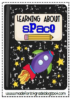 two creative writing lesson plans and art projects to use during space unit Kindergarten Science Projects, 1st Grade Science, Primary Science, Science Classroom, Science Lessons, Teaching Science, Space Activities, Science Activities, Writing Activities