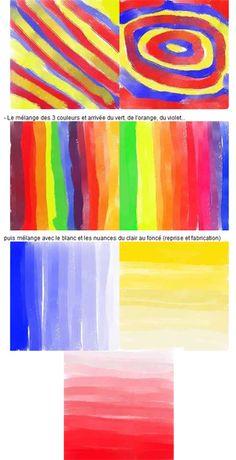 couleur en maternelle Plus