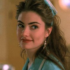 "Mädchen Amick as waitress Shelly Johnson in David Lynch's ""Twin Peaks"" (1990-91)"