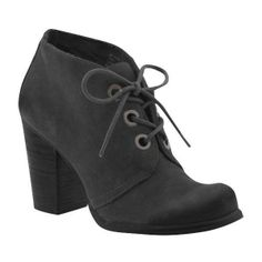 Mia Cadet Boots ($30) found on Polyvore