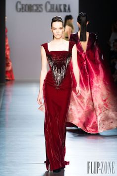 Georges Chakra Automne-hiver 2014-2015 - Haute couture - http://www.flip-zone.fr/fashion/couture-1/fashion-houses/georges-chakra-4814