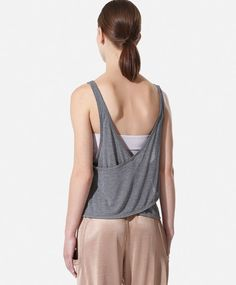 Camiseta con top interior Studio - OYSHO