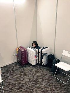 Kpop Girl Groups, Korean Girl Groups, Kpop Girls, Friend Memes, G Friend, Extended Play, Polaroid Printer, Jung Eun Bi, Filters For Pictures