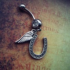 Cowboys and Angels Belly Ring on Etsy, $14.00