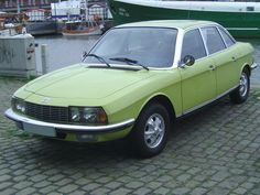 NSU ro80.  The 'ro' stood for 'rotary'.  This was the world's first production car to use the Wankel rotary engine Though Mazda did it a lot better and the seals on the tips of NSU rotors were notorious for wear, I still honor the inventiveness.  Audi ended up absorbing NSU about 1967.
