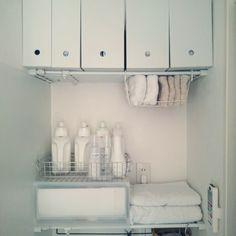 洗濯機周りのランドリースペースってうまく活用できていますか?100均や無印アイテムを使った、家事がはかどる収納術をまとめてご紹介いたします!