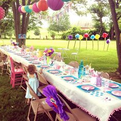 backyard party decorating ideas | 10 Awesome Outdoor Birthday Party Ideas for Kids of All Ages (1 of 11)