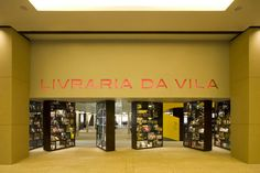 This is a bookstore that seems to be made almost entirely out of books — down to its dramatic front doors.Livraria da Vila, Sao Paulo, Brazil