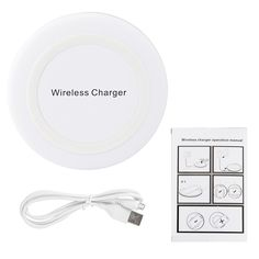 Wireless Charger - Showme Qi Wireless Charging Pad for S6