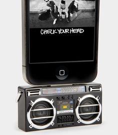 Mini Boombox MP3 iPhone Speaker