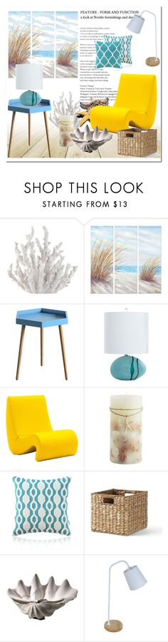 """""""Ocean # Homelava"""" by homelava ❤ liked on Polyvore featuring interior, interiors, interior design, home, home decor, interior decorating, Fancy That Gift & Décor, Yosemite Home Décor, HomeBelle and Universal Lighting and Decor"""