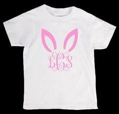 Easter Bunny Personliazed Monogram Name by designstudiosigns, $24.00